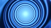 Blue Space Time Warp Tunnel Vortex Loopable Motion Background V2