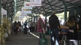 DAVIS CALIFORNIA, NOVEMBER 22 2016, The Davis Farmers market, people walking through and looking at the agricultural items for purchase.