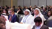 distribuce : DUBAI, UAE - MAY 12, 2017: Dubai World Trade Centre. Conference and congress. Diversity People Talk International Conference Partnership