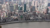 Šanghaj : View of historic architecture of the Bund , facing the Huangpu river , Shanghai, China Dostupné videozáznamy