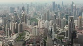 broadband : View of Urban scene in Shanghai , Shanghai, China Stock Footage