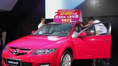 Xi An, China - Sep 30 2013: -Macao Auto Show