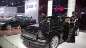 Xi An, China - 30. September 2013: -Macao Auto Show