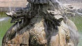 Stone sculpture of dragon fountain,xian,shaanxi,China