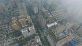 blokken : AERIAL shot of scenery in Xian city,Shaanxi,China.