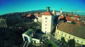 Upper Town Zagreb - aerial