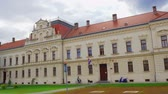 Vukovar County Court Stok Video