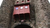 defensiva : Maastricht, Netherlands June 03, 2013: Exterior of the Hell gate in Maastricht, Netherlands. Stock Footage