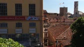 provence : Grasse, France - April 10, 2014: View to the Fragonard perfume factory and old buildings of Grasse, France.