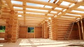 чулан : Wooden house. Bulding of new wooden house