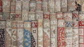 article : Turkish silk carpets Stock Footage