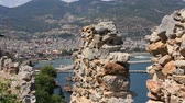 sertlik : Ruins of old fortress wall, Alanya, Turkey