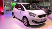 kia : KIEV, UKRAINE, MAY 27, 2012: KIA Venga at the yearly automotive show SIA 2011 in Kiev, Ukraine.