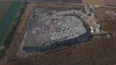 kupa : Illegal Outdoor Garbage Dump Aerial View. Environmental Pollution