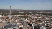 south australia : Aerial View Adelaide City Construction HD Footage