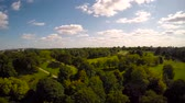 willis tower : Greenwich Park Landscape 4 Stock Footage