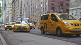 budynek : Yellow taxi in New York City
