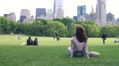 freude : Young girl in Central Park