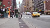 ameryka : Road traffic in New York