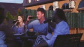 pivo : Young people at the party outdoors