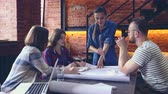 work place : Young people at work Stock Footage