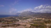 wyspa : Greek Patra view from above