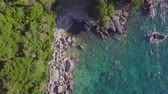 vista desde arriba : The coastline from the quadrocopter