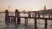 雄大な : Sunset on the pier