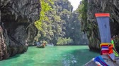 Seamless loop - Maya Bay, Koh Phi Phi island in Thailand, HD video
