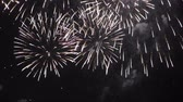 Seamless loop of fireworks, HD video Stock Footage
