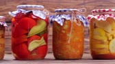 preserved : Organic vegetables. Food products from the farmer.