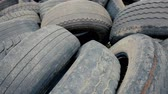 протектор : Dump car tires, old tires.