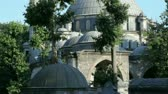 ahmet : Eyup Sultan Mosque in istanbul Stock Footage
