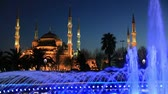 ahmet : Blue Mosque at Istanbul Turkey