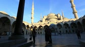 ahmet : Blue Mosque at the istanbul Turkey (pan) Stock Footage