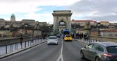 car : People walking on the city bridge