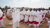 Иисус : ADDIS ABABA, ETHIOPIA - JANUARY 18: Ethiopian Orthodox followers celebrate Timket,  the Ethiopian Orthodox celebration of Epiphany, on January 18, 2014 in Addis Ababa.