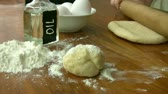 meal : Making Dough Stock Footage