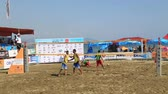 summer : Alanya beach volleyball tournament 4 August 2014 Antalya Turkey