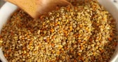 nutricional : Bowl full of bee pollen