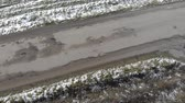 asfalt : Destroyed road, difficult traffic area, threat of traffic accident