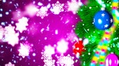 bombki : Christmas loopable background with nice balls