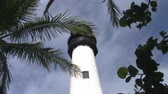 The Upper Part with the Black Lantern Room of Cape Florida Lighthouse