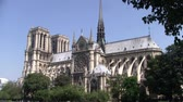известный : The Church Notre Dame de Paris Cathedral intact before the Fire, Paris, France, circa July 2013