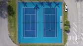 спортивный : Tennis Court Birds Eye View aerial