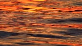 golden : Beautiful sunset water background