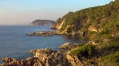 уборная : Nice bay landscape in a Spanish coastal, Costa Brava