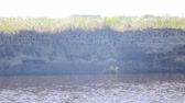 seixos : Wavy flowing river in daytime 10475_01 Stock Footage