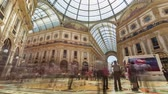 milano : MILAN, ITALY - MAY 3: View of Galleria Vittorio Emanuele II. Most popular shopping areas in Milan.