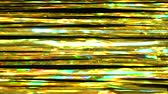ティンセル : Abstract horizontal shiny background from golden tinsel. Beautiful dynamic background in shining lights and sparkling particles. Festive mood. Christmas or holiday theme 動画素材